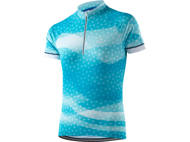 Löffler Prisma Bike Trikot Half-Zip Damen topaz blue